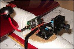 The camera, gimbal, VTX & antenna