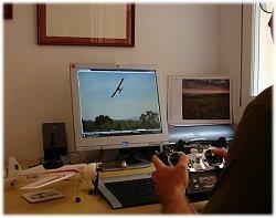 Modern RC flight simulators make excellent training aids