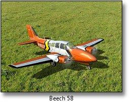 Phoenix rc flight simulator - Beech 58