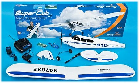A typical RTF rc plane as purchased