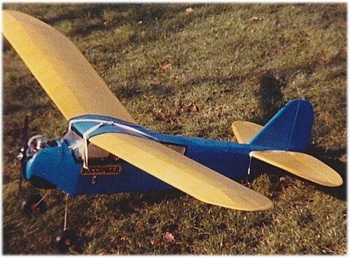 My 3 channel RC Buccaneer