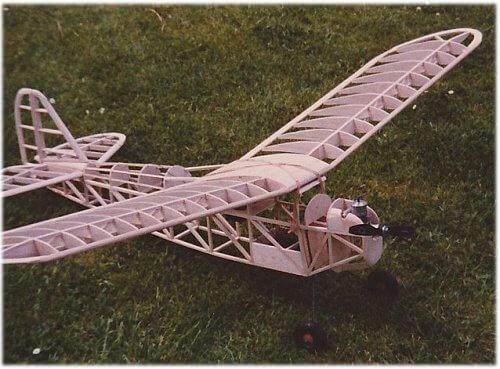 Vintage Model Plane 88