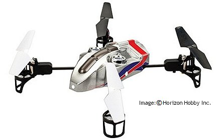 The mQX rc multicopter