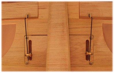 Valentino aileron detail