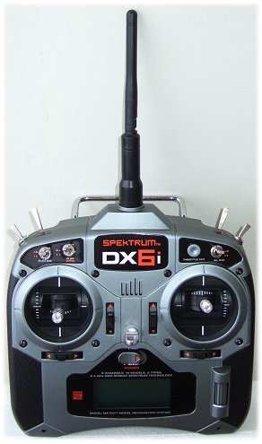 Spektrum DX6i transmitter (Tx)
