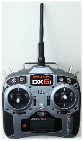 Spektrum DX6i transmitter (Tx)