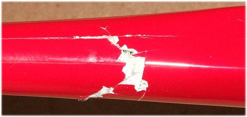 fiberglass fuselage repair - broken FlyFly Freebird fuselage
