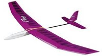 Fling hand launched rc glider