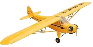 Hanger 9 gas Piper J3 Cub