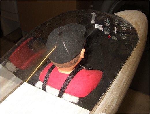 Lunak cockpit view