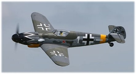 RC warbirds - The ParkZone Messerschmitt Bf-109G looks great in the air!