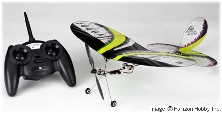 ParkZone Vapor electric RTF mini rc airplane