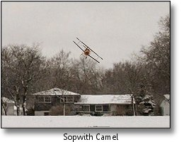Phoenix RC flight simulator screenshot - Sopwith Camel