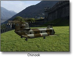 Phoenix RC flight simulator screenshot - Chinook