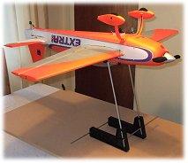 An rc airplane balancer