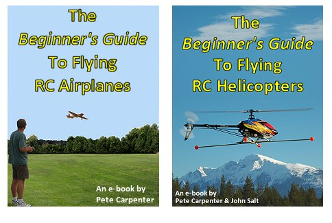 Check out my Beginners Guide e-books on RC flying