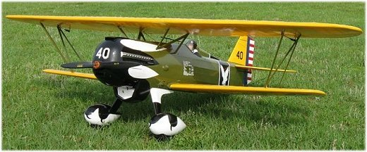 The RC Curtiss P6-E Hawk by Bob Bishop