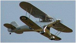 RC Fairey Fantome in flight