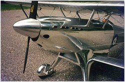Nose detail of the RC Fairey Fantome