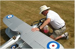 Bob with his Fairey Fantome