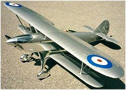 Large scale RC Fairey Fantome plan