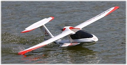 RC float planes: take off & landing