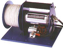A typical rc glider winch