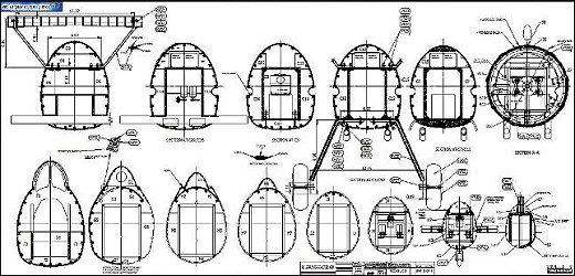 RC Gloster Gladiator plan sample 2