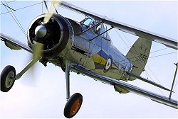 Large scale RC Gloster Gladiator plan