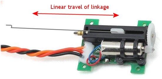 RC linear servo