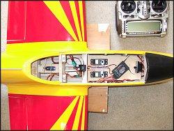 The radio gear installation