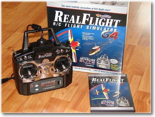 The RealFlight G4 RC Flight Simulator