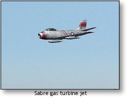 RealFlight G4 Sabre gas turbine