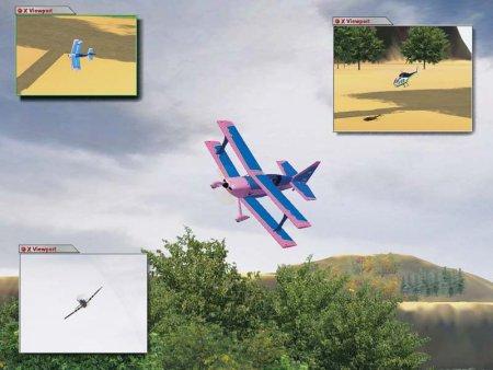 RC biplane