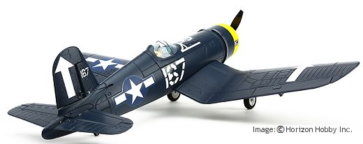 An impressive RTF RC Corsair