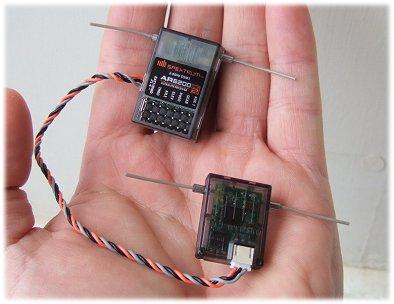 Spektrum AR6200 receiver (Rx)