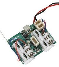 Spektrum AR6400 receiver/ESC/servo unit