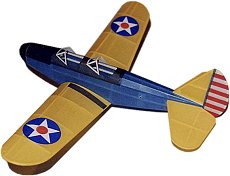A tissue and dope covered model plane