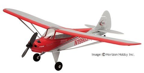 The UMX Carbon Cub mini rc plane