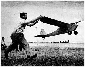 Walt and Bill Good and their plane Big Guff
