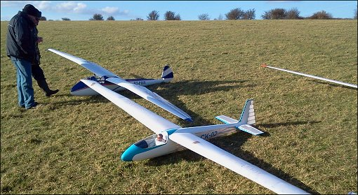 Chris Williams giant scale rc gliders