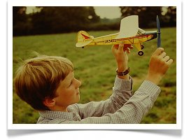 My early days of aeromodelling in the 1980s