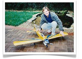 One of my planes - Barry Lever Warrior