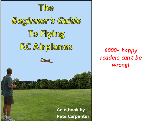 The Beginner's Guide To Flying RC Airplanes e-book - no free PDF download