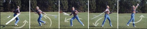Discus launching an rc glider