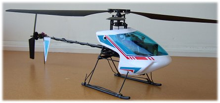 The Walkera Dragonfly 4 electric rc helicopter