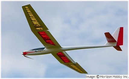 E-flite Mystique is perfect for thermal soaring