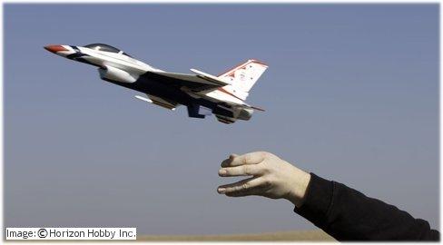 E-flite UMX jets are very popular