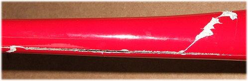 Fibreglass fuselage repair - assess the damage