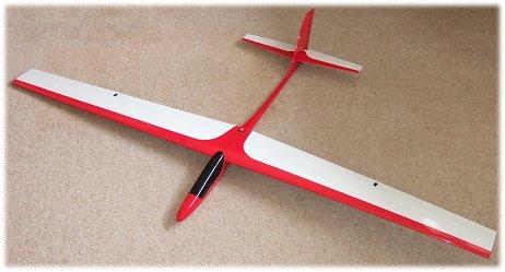 The FlyFly Freebird rc glider